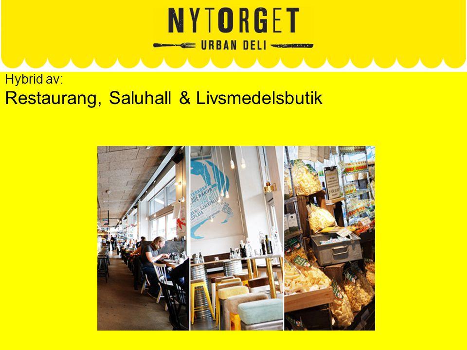 Hybrid av: Restaurang, Saluhall & Livsmedelsbutik