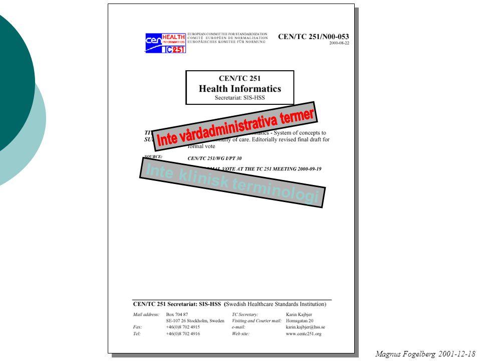 Magnus Fogelberg 2001-12-18 Inte klinisk terminologi