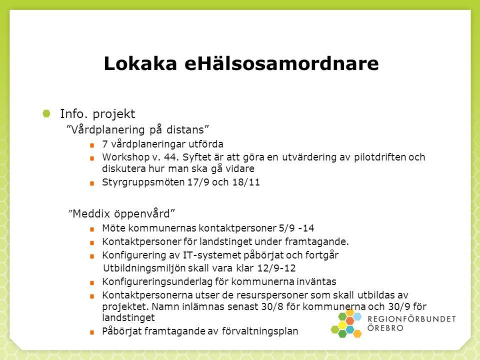Lokaka eHälsosamordnare Info.