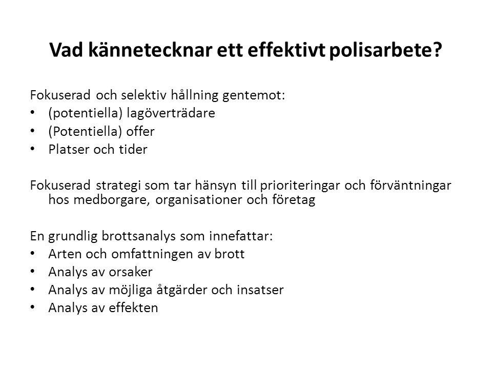 Effektiva rehabiliterande insatser What works in The Netherlands.