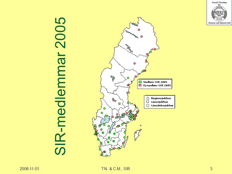 2006-11-01.T.N. & C.M., SIR.3 SIR-medlemmar 2005