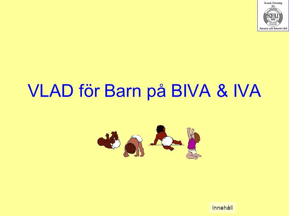 VLAD för Barn på BIVA & IVA Innehåll