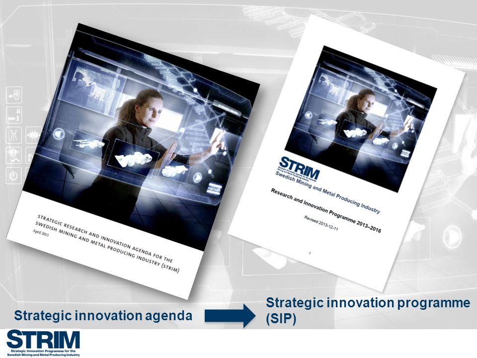 Projektform för denna utlysning Vi välkomnar följande typ av projektförslag: 2) Fullskaliga innovationsprojekt som syftar till att implementera idéer som bidrar till att realisera STRIMs övergripande mål.