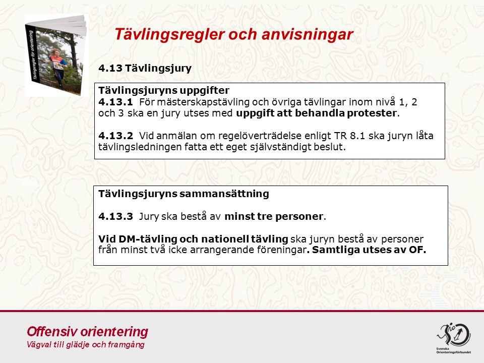 TR 6.2Tävlande på lika villkor Tävlingsregler och anvisningar Att diskutera: Vad har Tävlingsledaren för ansvar för att säkerställa Tävlande på lika villkor .