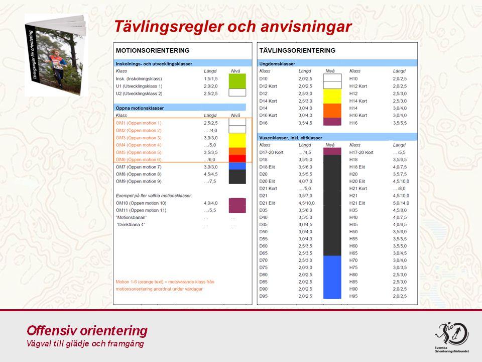 4.1Kvalitetssäkring Orienteringstävling inom nivåerna 1-4 får arrangeras endast efter medgivande av SOFT eller OF.