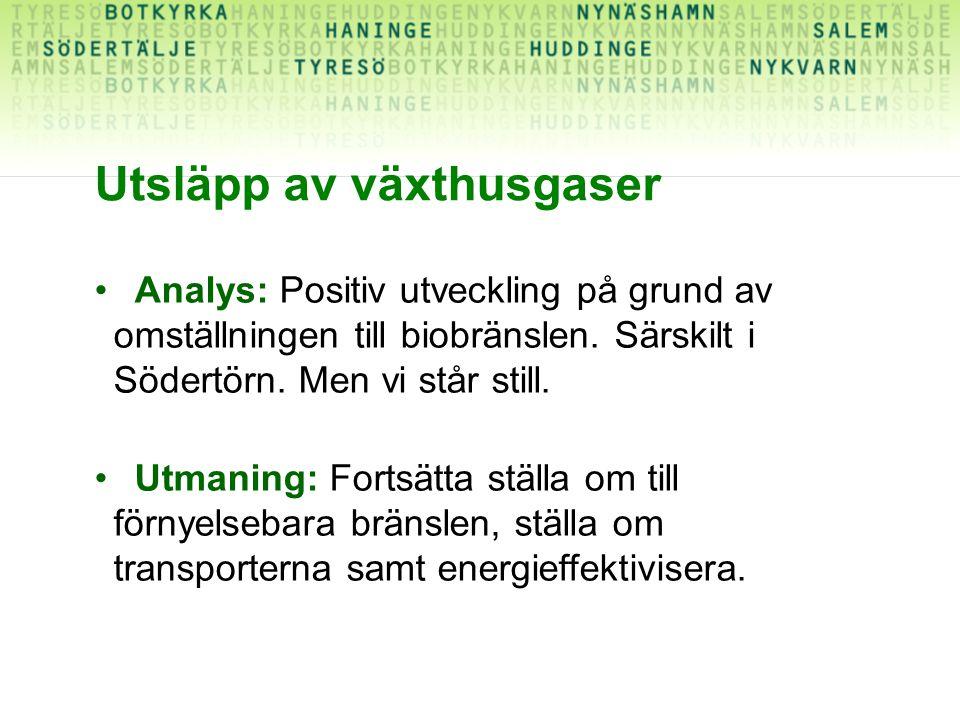 Analys: Positiv utveckling på grund av omställningen till biobränslen.