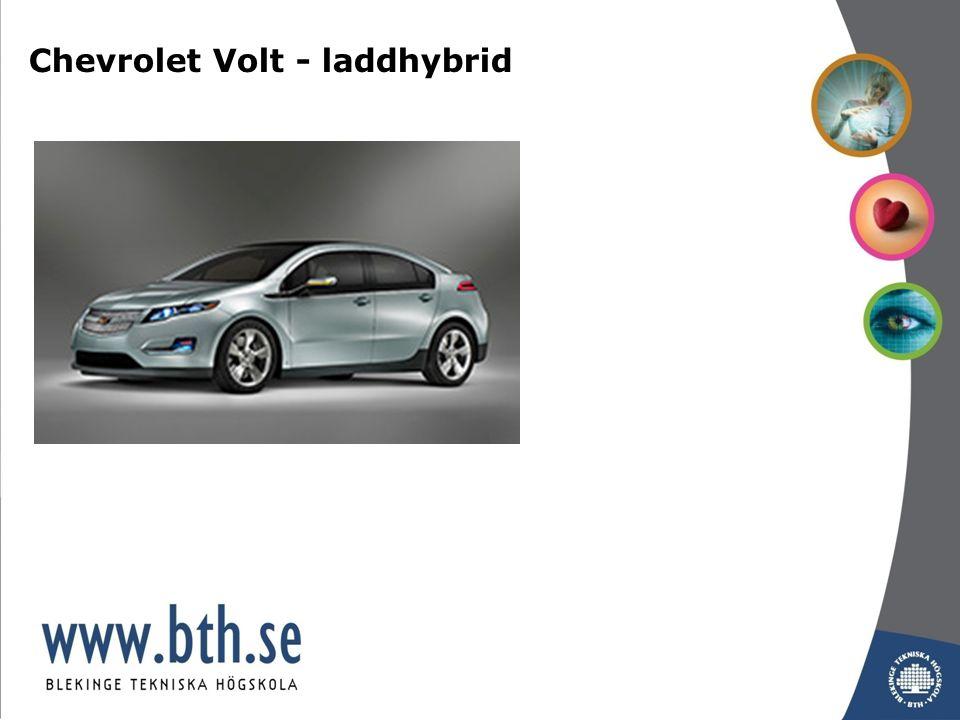 Chevrolet Volt - laddhybrid