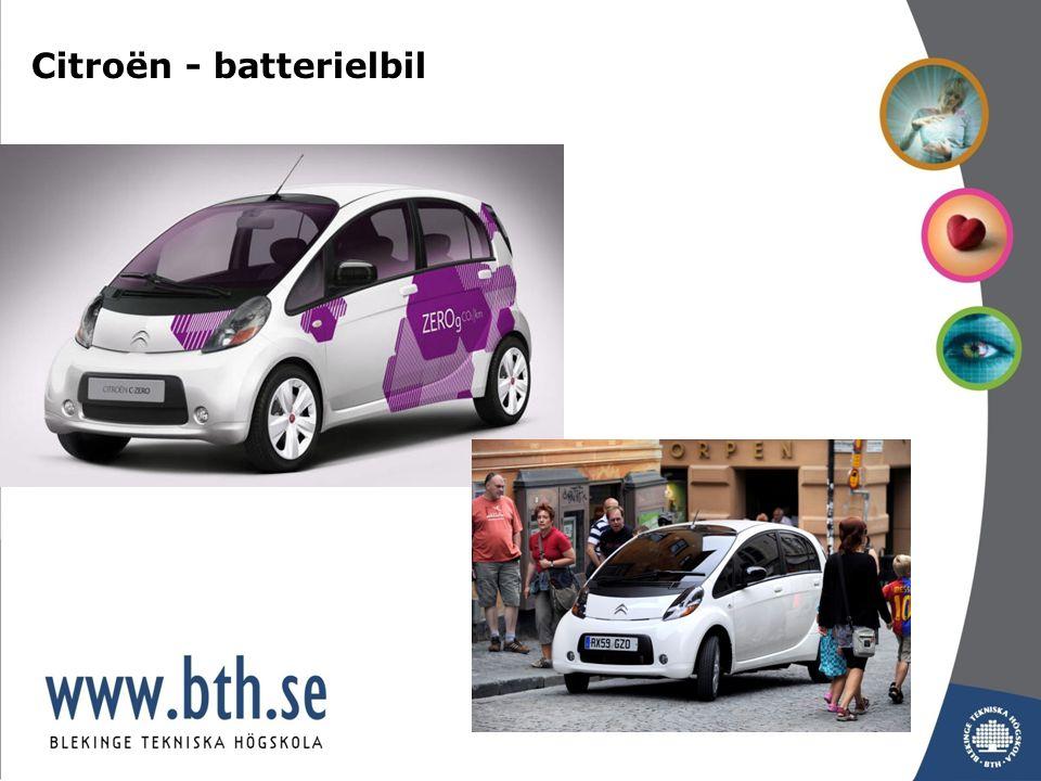 Citroën - batterielbil