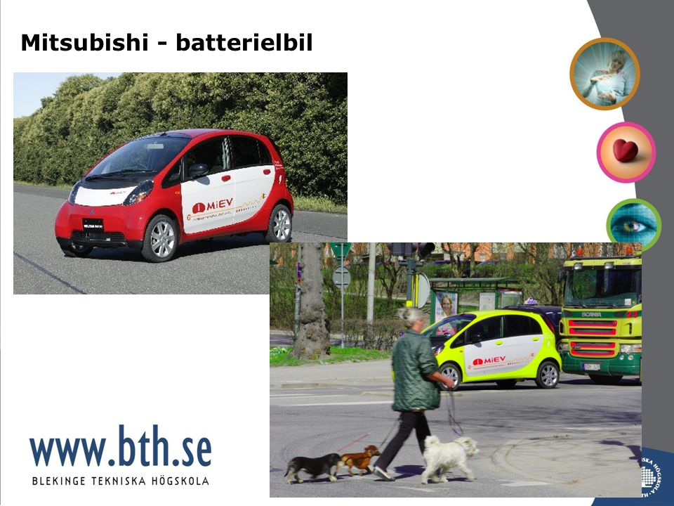 Mitsubishi - batterielbil