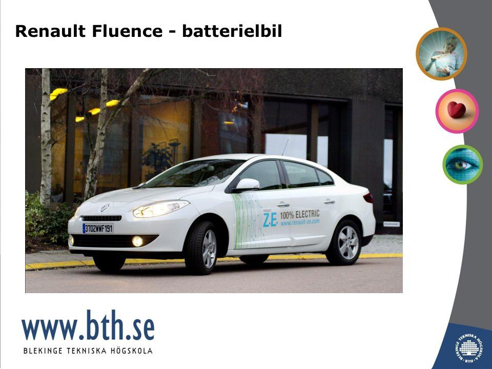 Renault Fluence - batterielbil