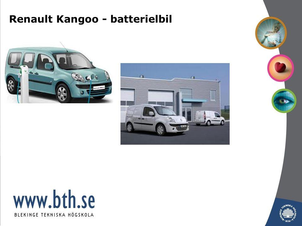 Renault Kangoo - batterielbil