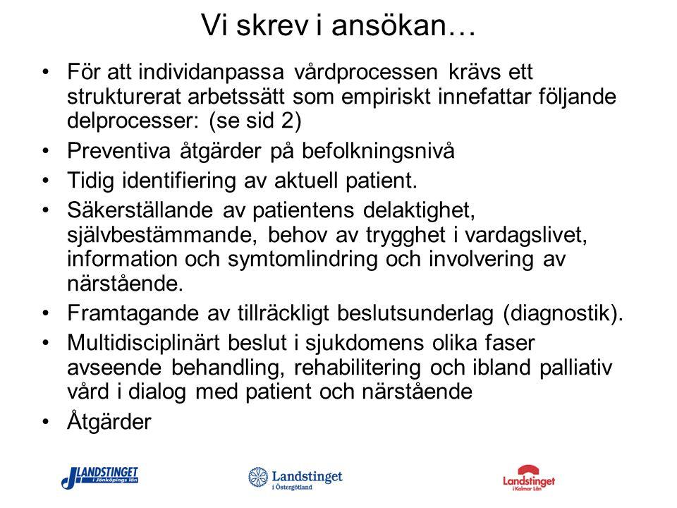 Kommande seminarier: 13 oktober 2010, Fredensborgs Herrgård, Vimmerby 14 december 2010, Qulturum, Länssjukhuset Ryhov, Jönköping 9 februari 2010, Plats meddelas senare