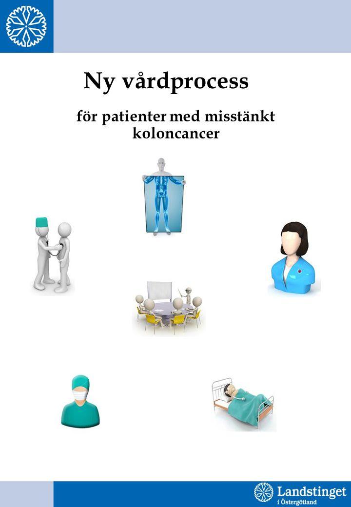 Ny vårdprocess för patienter med misstänkt koloncancer