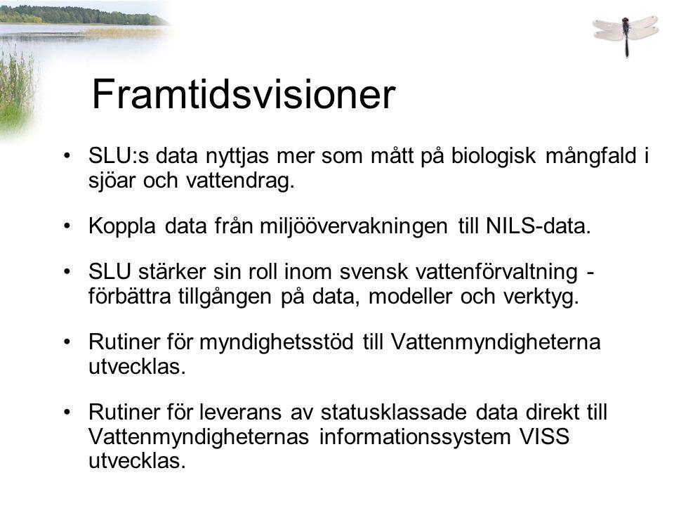 SLU:s data nyttjas mer som mått på biologisk mångfald i sjöar och vattendrag.