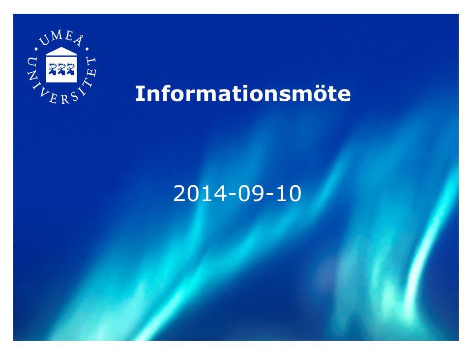 Informationsmöte 2014-09-10
