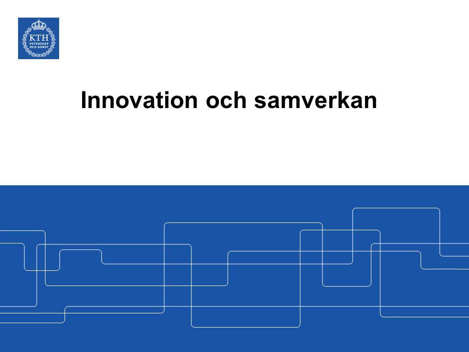 Innovation och samverkan