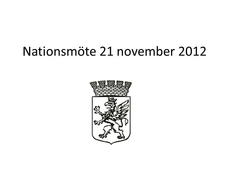 § 35 Nationsval Resursförman (1Terminer) : Vakant