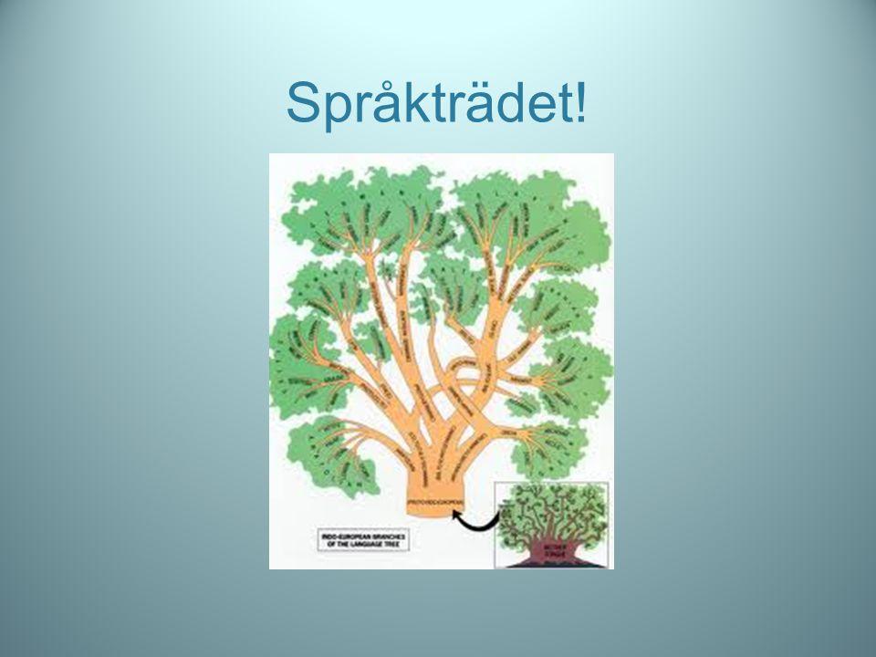 Språkträdet!