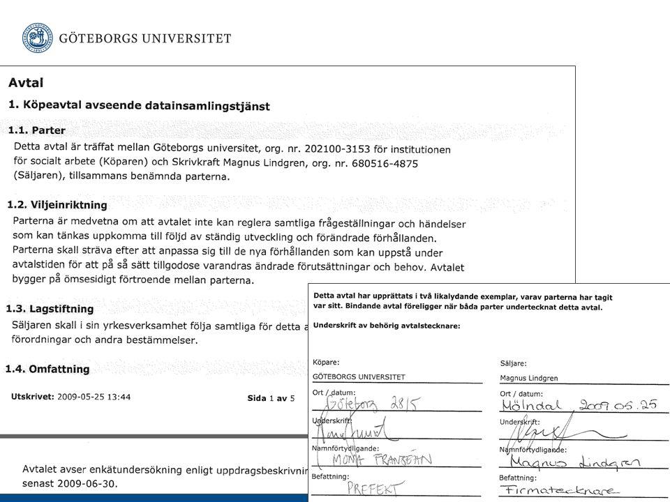 www.gu.se Case Avtalstecknande