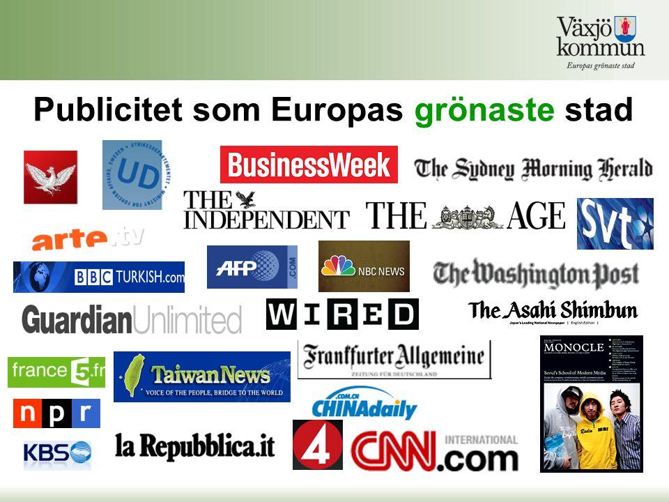 Publicitet som Europas grönaste stad