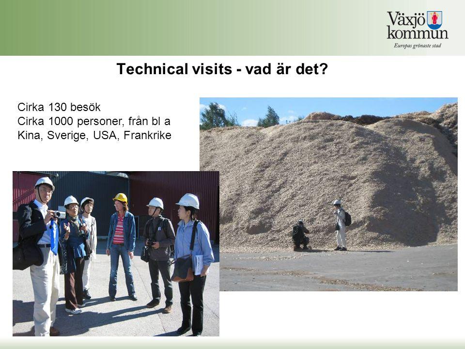 Technical visits - vad är det.