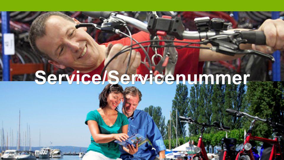 Service/Servicenummer