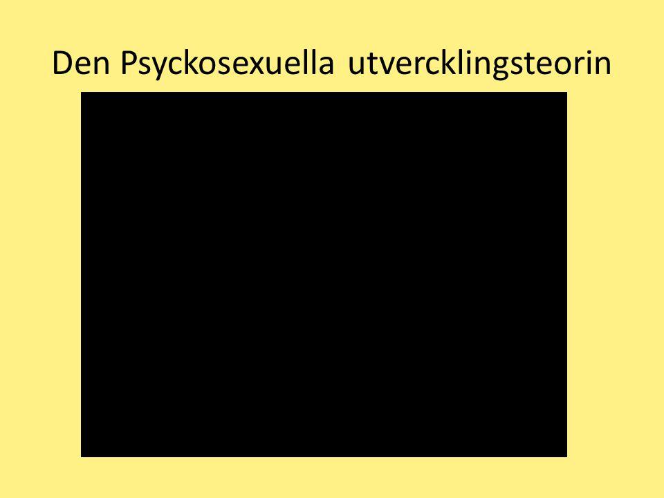 Den Psyckosexuella utvercklingsteorin