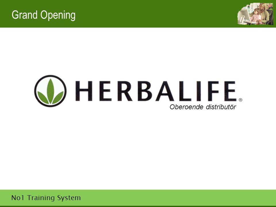 No1 Training System Herbalife för alla