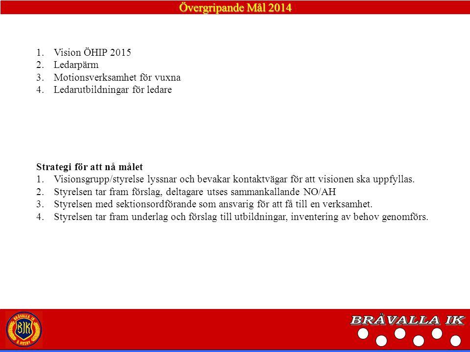 Verksamhetsidé Bråvalla IK ska verka för fysisk fostran/ idrottsutövande, god sportsmannaanda och gemenskap för ortens befolkning.