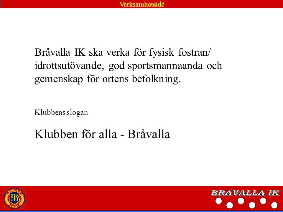 Värdegrund Bråvalla IK är en ideell, politiskt och religiöst obunden organisation där människor oavsett hudfärg, kön eller läggning ska känna sig välkomna.