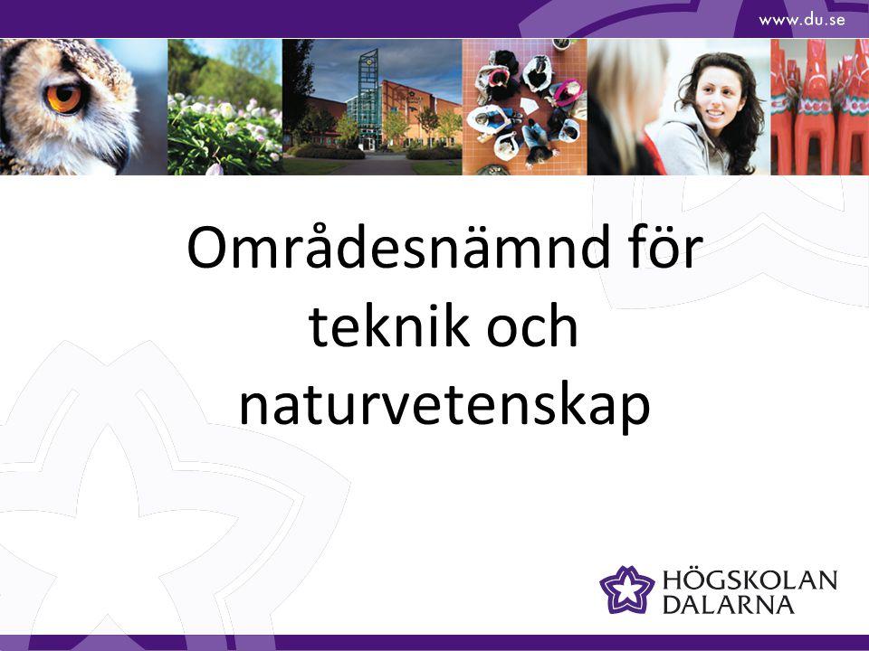 Områdesnämnder (ON) inom IS Områdesnämnd Teknik och naturvetenskap (ONTN) Områdesnämnd Samhällsvetenskap (ONSAM)