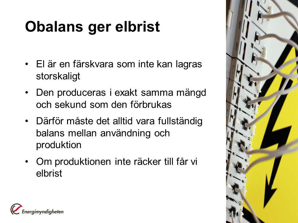 Frånkoppling – en sista åtgärd Vid elbrist kan elsystemet kollapsa Svenska Kraftnät kan, som en sista åtgärd, beordra frånkoppling av delar av elnäten för att minska förbrukningen Alla elanvändare inom stora geografiska områden drabbas då av elavbrott 6