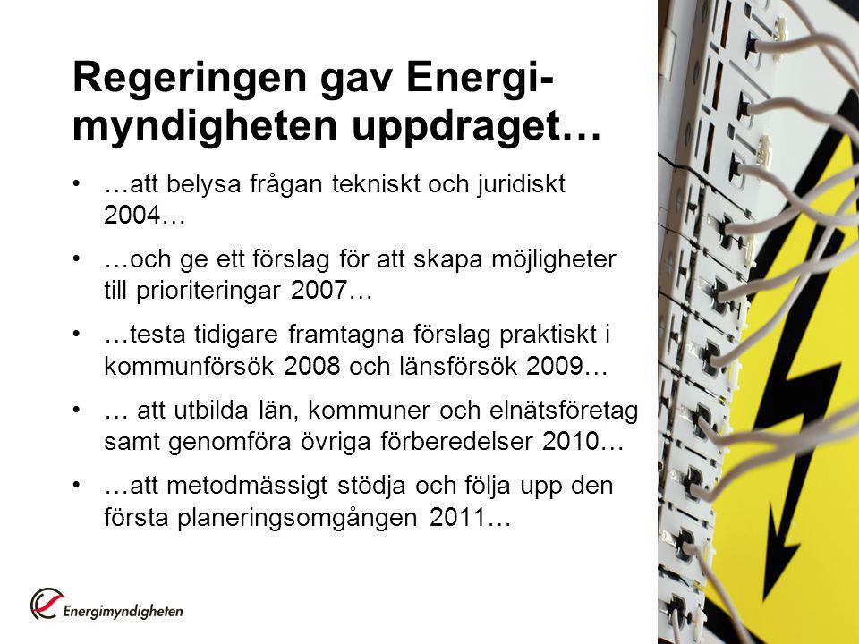 Agenda Introduktion Det svenska krisberedskapssystemet Elnät, elproduktion och elanvändning Styrels planeringsprocess Sekretess Information och kommunikation Sammanfattning 60