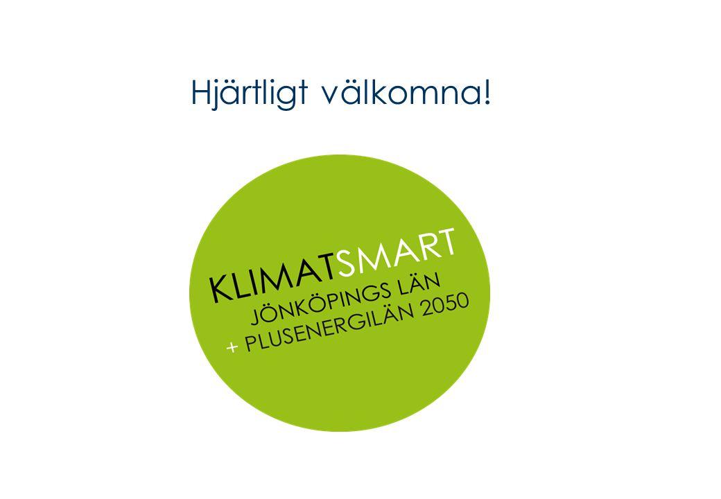 Energi- och klimatstrategiskt arbetet på Länsstyrelsen i Jönköping Andreas Olsson (100 %), Energi- och klimatstrateg Andreas.olsson@lansstyrelen.se Tfn 036-39 51 57 Stefan Lundvall (40 %), Miljöstrateg (samordnande) Stefan.lundvall@lansstyrelsen.se Tfn 036-39 50 70 Eva Hallström, Energi- och klimatstrateg Tjänstledig 100 % tom 2012-12-31