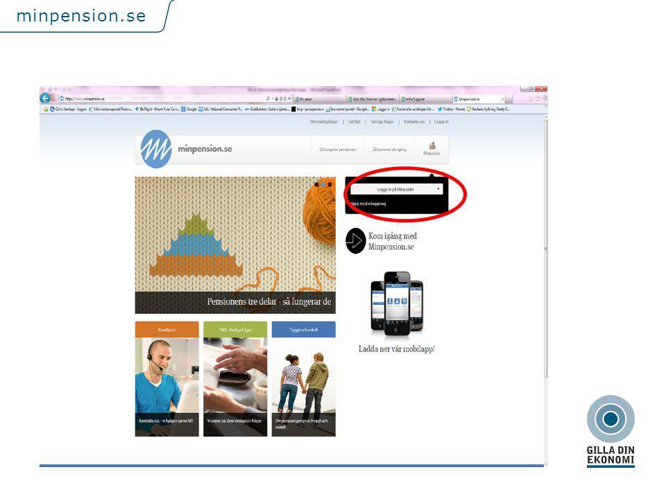 För att uppdatera sidfotstexten, gå till menyfliken: Infoga | Sidhuvud och sidfot. minpension.se