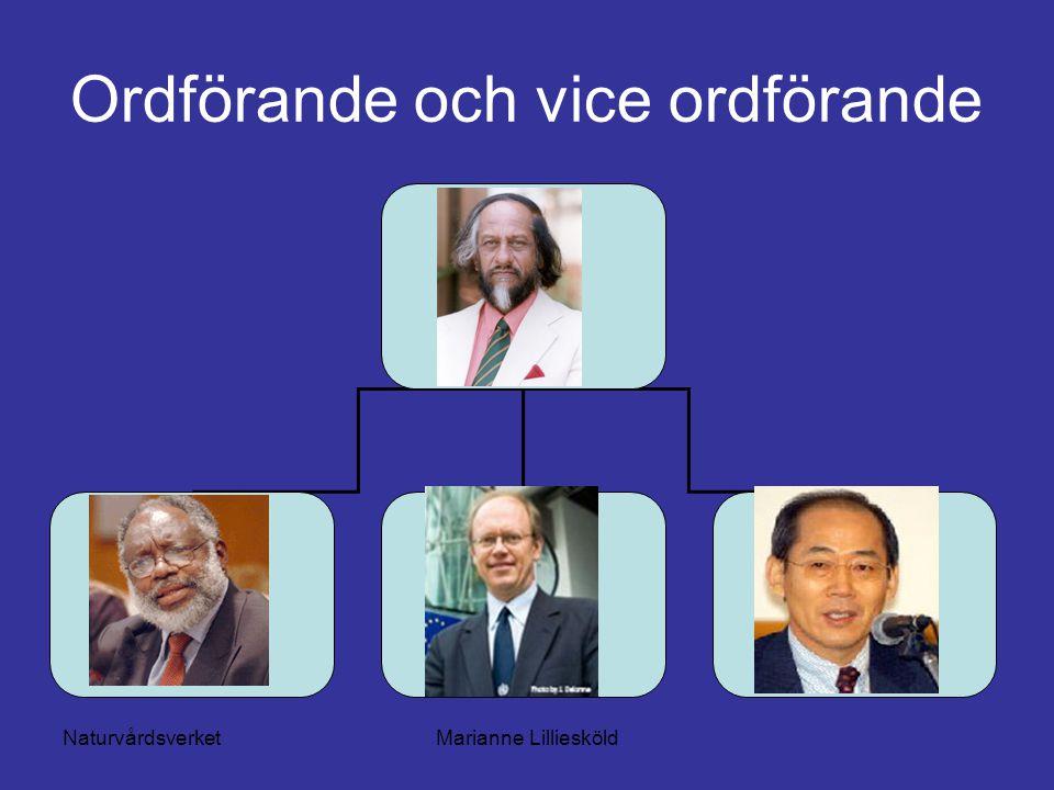 NaturvårdsverketMarianne Lilliesköld Ordförande och vice ordförande