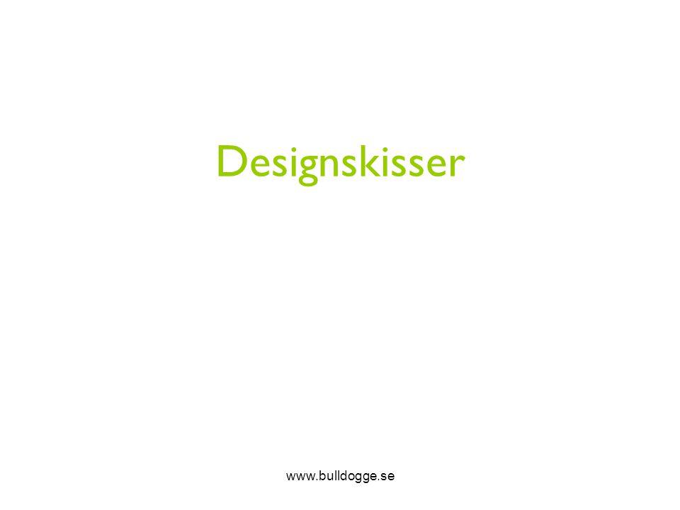 Designskisser www.bulldogge.se