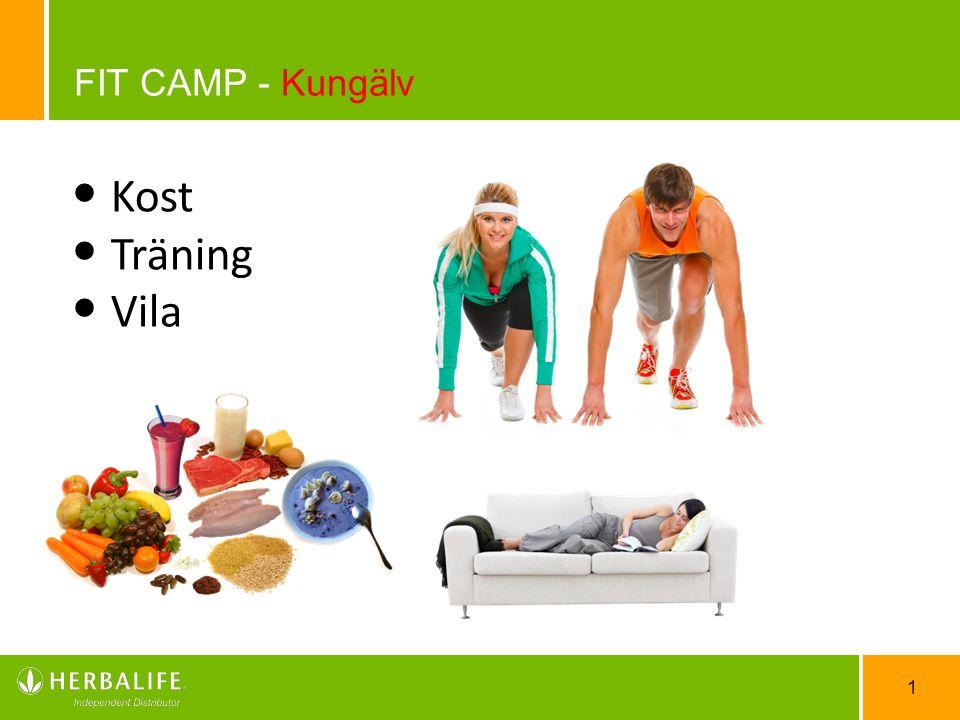 1 FIT CAMP - Kungälv Kost Träning Vila