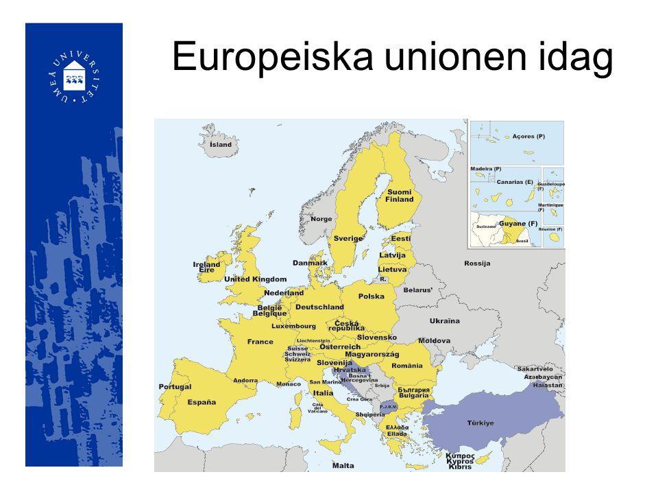 Europeiska unionen idag
