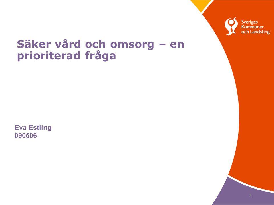 12 VRISS VårdRelaterade Infektioner Ska Stoppas 42 team deltog i VRISS I och VRISS II