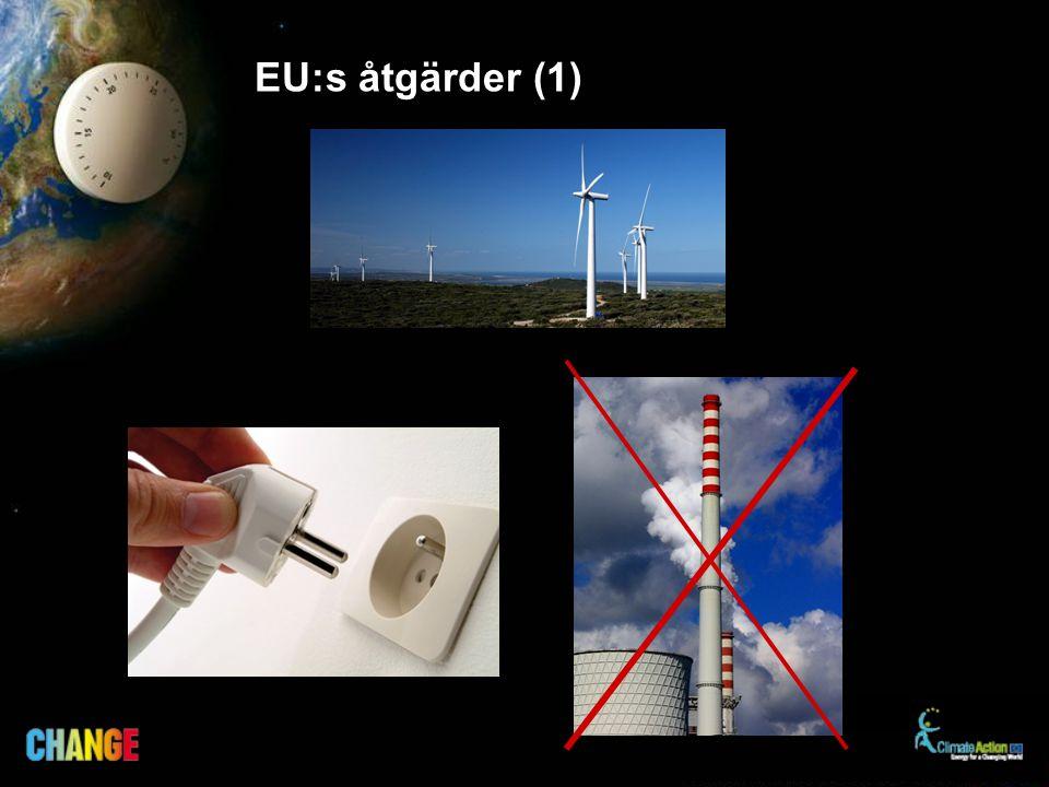 EU:s åtgärder (1)