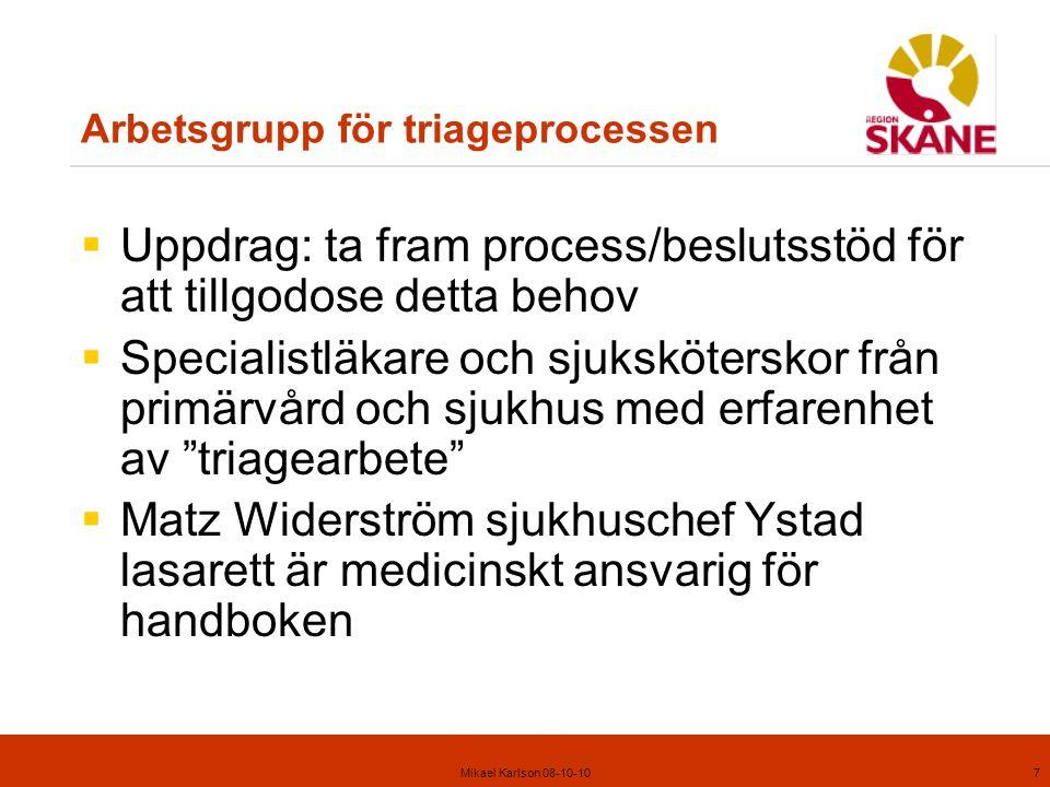 Mikael Karlson 08-10-1028 Kompletterande anamnesuppgifter, fall 16 1.Samtidig svaghet höger ben.