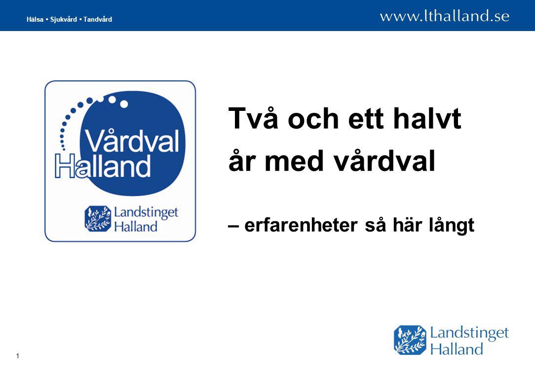 Hälsa Sjukvård Tandvård 2 Förändringar som gagnar hallänningen 7 nya vårdcentraler att välja mellan: alla privata.