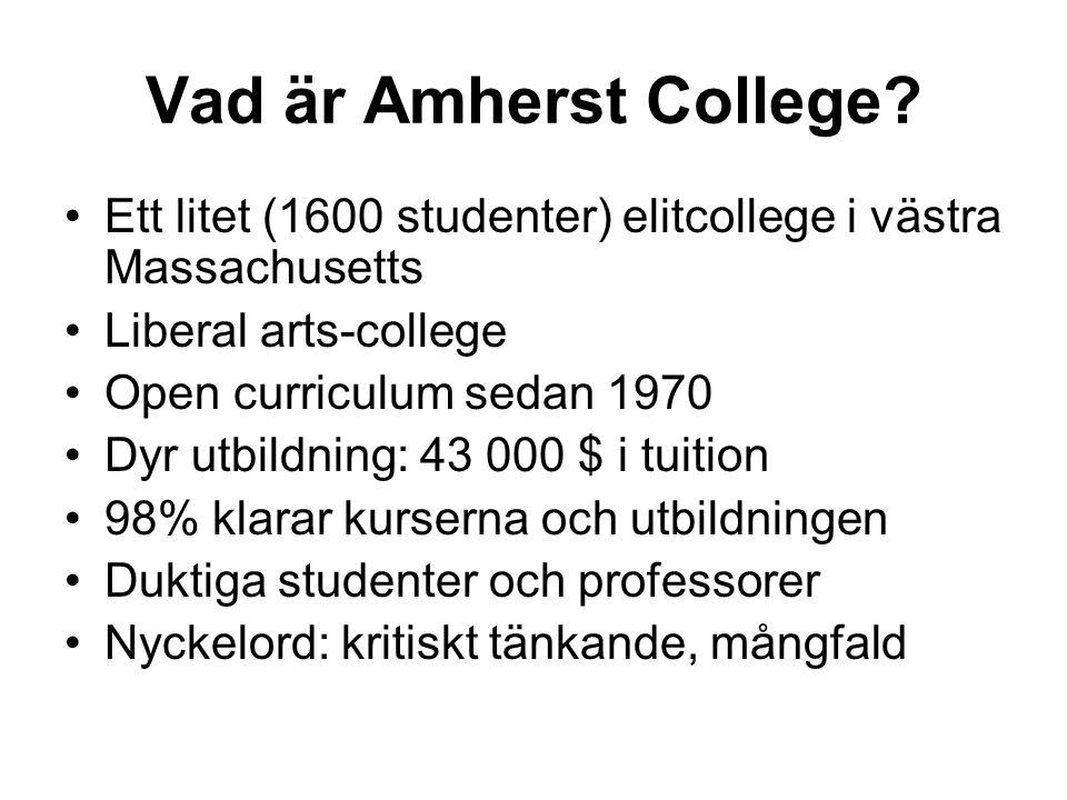 Vad är Amherst College.