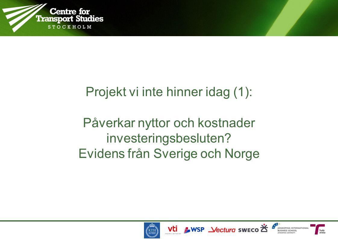 Objektens NNK i svenska planen 201002021 NNK Utpekat av regeringen TrV:s förslag Utökad plan Utanför plan