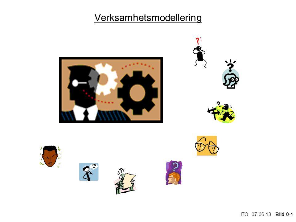 ITO 07-06-13 Bild 0-1 Verksamhetsmodellering