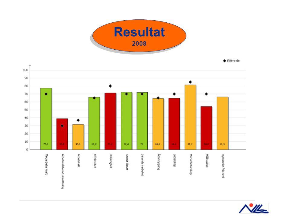 Resultat 2008