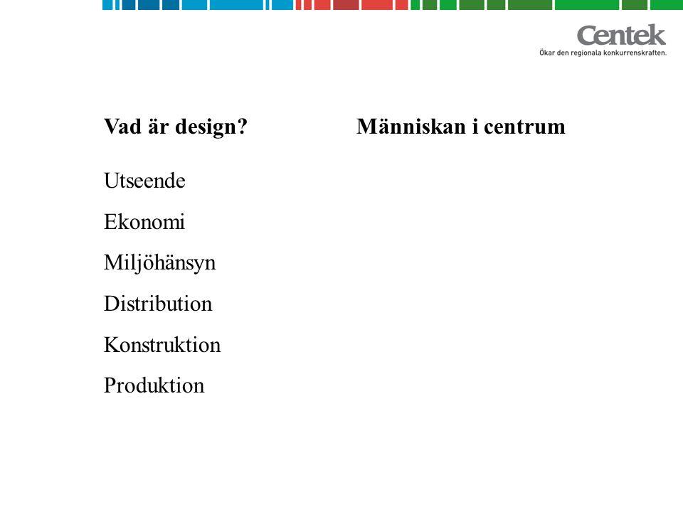 Vad är design.