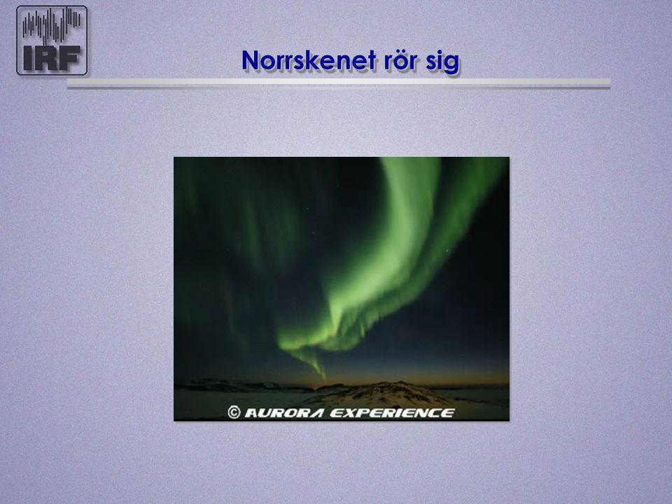 På vilken höjd finns norrsken ? 100 km över jorden 100 km över jorden