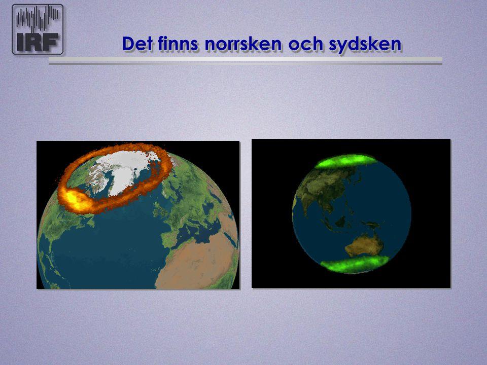 Solvinden ändrar jordens magnetfält